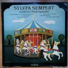 Discos de vinilo: DISCO VINILO LP SYLVIA SEMPERT EX LIBRIS EL 12 239 MÚSICA INFANTIL. Lote 156542952
