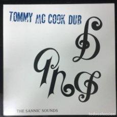 Discos de vinilo: TOMMY MCCOOK DUB THE SANNIC SOUNDS DUB STORE RECORDS  DSR-LP-004 LP 2015 VINILO NUEVO DUB ROOTS. Lote 156544690