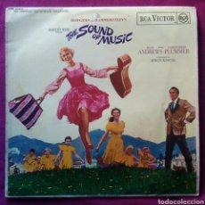 Discos de vinilo: DISCO VINILO THE SOUND OF MUSIC JULIE ANDREWS SONRISAS Y LÁGRIMAS AÑO 1965. Lote 156544836