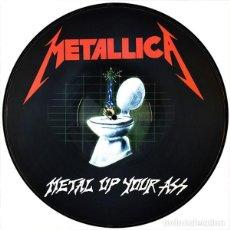 Discos de vinilo: METALLICA LP METAL UP YOUR ASS PRECIOSO PICTURE DISC MUY RARO COLECCIONISTA. Lote 156545974