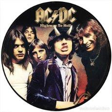 Discos de vinilo: AC/DC LP HIGHWAY TO HELL PRECIOSO PICTURE DISC MUY RARO COLECCIONISTA. Lote 156546658