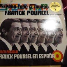 Discos de vinilo: FRANK POURCEL- DOBLE LP FRANK POURCEL EN ESPAÑA- EMI ODEON 1976 ESPAÑA 7. Lote 156548088