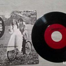 Discos de vinilo: MUSICA SINGLE: B.J. THOMAS - RAINDROPS KEEP FALLIN' ON MY HEAD / IF YOU EVER LEAVE ME (ABLN). Lote 156551014