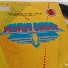 Discos de vinilo: SINGLE (VINILO) DE PEOPLE´S CHOICE AÑOS 80. Lote 156551518