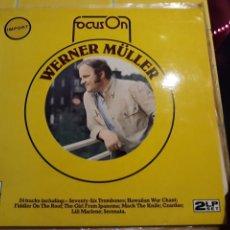 Discos de vinilo: WERNER MÜLLER- DOBLE LP FOCUS ON- DECCA IMPORT 7. Lote 156552522