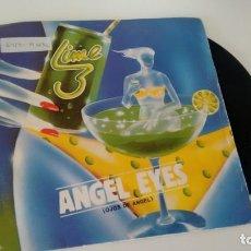 Discos de vinilo: SINGLE (VINILO) DE LIME AÑOS 80. Lote 156552526