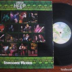 Discos de vinilo: URIAH HEEP `INNOCENT VICTIM` USA 1977. Lote 156505114