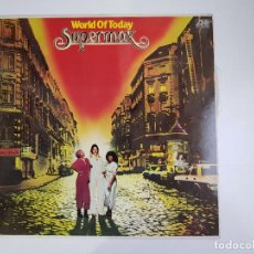 Discos de vinilo: SUPERMAX - WORLD OF TODAY (VINILO). Lote 156554098