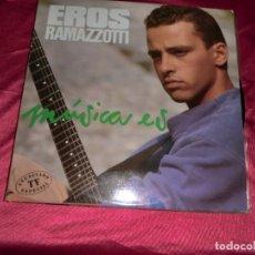 Discos de vinilo: EROS RAMAZZOTI 1988, MUSICA ES. Lote 156554262
