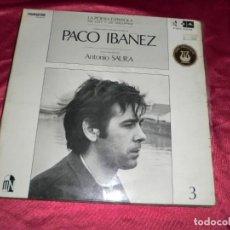 Discos de vinilo: PACO IBAÑEZ LP. Lote 156554578
