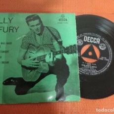 Discos de vinilo: BILLY FURY / LAST NIGHT WAS MADE FOR LOVE / EP 45 RPM / DECCA 1962 SPAIN . Lote 156560198