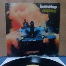 Discos de vinilo: URIAH HEEP - SALISBURY 1977 ( 1971 ) GER GATEFOLD. Lote 156564633