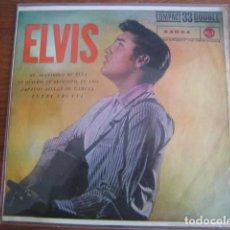Discos de vinilo: ELVIS PRESLEY ***** RARO EP ESPAÑOL 1961 33 RPM MIRAR ESTADO. Lote 156565010