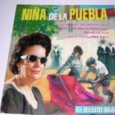 Discos de vinilo: NIÑA DE LA PUEBLA - EL NIÑO DE LAS MONJAS / DEMUESTRO MÁS ALEGRÍA / AIRES POPULARES / TINI - EP 1964. Lote 156565250