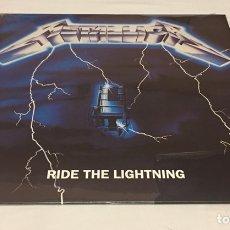 Discos de vinilo: METALLICA - RIDE THE LIGHTNING LP, REEDICIÓN, 2008, EUROPA. Lote 156568065