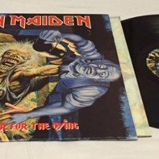 Discos de vinilo: IRON MAIDEN - NO PRAYER FOR THE DYING LP, 1990, ESPAÑA. Lote 156568440