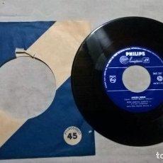 Discos de vinilo: MUSICA SINGLE: DON MARINO BARRETO JR. E IL SUO COMPLESSO - ARRIVEDERCI / ANGELI NEGRI (ABLN). Lote 156569598