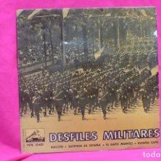 Discos de vinilo: DESFILES MILITARES - BANDA DE LA POLICIA ARMADA Y DE TRAFICO DE BARCELONA, LA VOZ DE SU AMO, 1961.. Lote 156573362