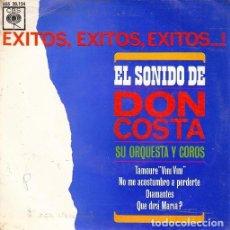 Discos de vinilo: DON COSTA SU ORQUESTA Y COROS - TAMOURE VINI VINI - EP DE VINILO EDICION ESPAÑOLA #. Lote 156574282