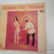 Discos de vinilo: CASILDO Y SUS VILLANOS - LA INYECCION DE PENA. Lote 156577614