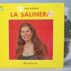 Discos de vinilo: LP. ANTONIA SALINAS. LA SALINERA. Lote 156579618