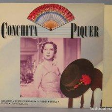 Discos de vinilo: LP. CONCHITA PIQUER. ANTOLOGIA DE LA CANCION ESPAÑOLA . Lote 156580502