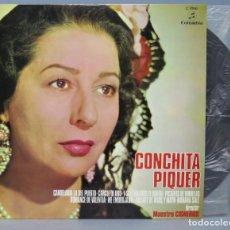 Discos de vinilo: LP. CONCHITA PIQUER. DIRECTOR MAESTRO CISNEROS . Lote 156581474