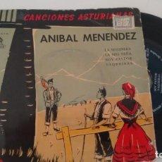 Discos de vinilo: E P ( VINILO) DE ANIBAL MENENDEZ AÑOS 50. Lote 156581826