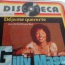 Discos de vinilo: SINGLE (VINILO) DE GILLY MASON AÑOS 70. Lote 156582022