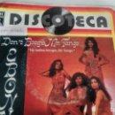 Discos de vinilo: SINGLE (VINILO) DE EBONY AÑOS 70. Lote 156582158