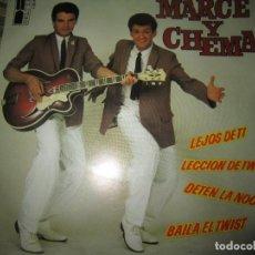 Discos de vinilo: MARCE Y CHEMA - LA LECCION DE TWIST EP - ORIGINAL ESPAÑOL - BELTER RECORDS 1980 -. Lote 156584050