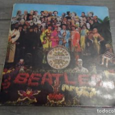 Discos de vinilo: THE BEATLES - SGT. PEPPERS LONELY HEARTS CLUB BAND (MOFL 9000) (SPAIN 1967). Lote 156588686