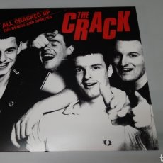 Discos de vinilo: THE CRACK - ALL CRACKED UP - THE DEMOS AND RARITIES. LP VINILO NUEVO.. Lote 156590668