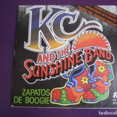 Discos de vinilo: KC & THE SUNSHINE BAND ‎SG EPIC 1978 BOOGIE SHOES / I GET LIFTED - DISCO FUNK 70'S. Lote 156591694