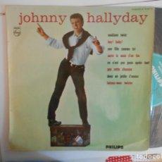 Discos de vinilo: JOHNNY HALLYDAY-LP FRANCES DE 25 CM-B 76 557 R, PHILIPS-NUEVO. Lote 156592106