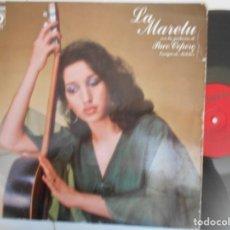 Discos de vinilo: LA MARELU-LP COMO QUIERES TU...1978. Lote 156594422