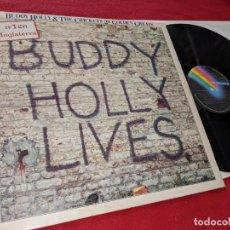 Discos de vinilo: BUDDY HOLLY&THE CRICKETS 20 GOLDEN GREATS LP 1980 MCA ESPAÑA SPAIN. Lote 156595754
