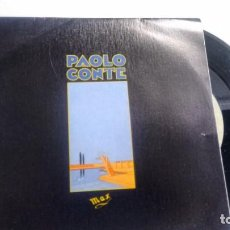 Discos de vinilo: SINGLE (VINILO) DE PAOLO CONTE AÑOS 80. Lote 156601218