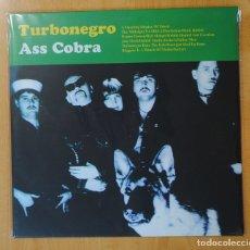 Discos de vinilo: TURBONEGRO - ASSCOBRA - LP. Lote 156602836