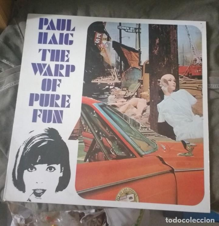 PAUL HAIG - THE WARP OF PURE FUN (Música - Discos - LP Vinilo - Pop - Rock - New Wave Extranjero de los 80)