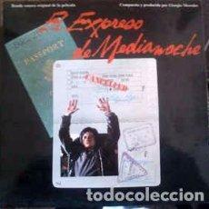 Discos de vinilo: GIORGIO MORODER - MIDNIGHT EXPRESS (MUSIC FROM THE ORIGINAL MOTION PICTURE SOUNDTRACK) (LP, ALBUM) . Lote 156605822