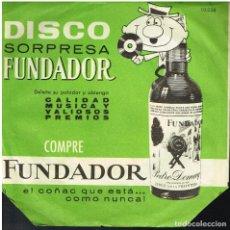 Discos de vinilo: PIERO ALBERTI - MUSICA ITALIANA - SINGLE 1963 - DISCO SORPRESA FUNDADOR 10038. Lote 156605874