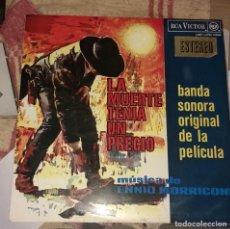 Discos de vinilo: LA MUERTE TENIA UN PRECIO - BSO. Lote 156606134