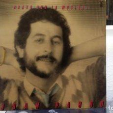 Discos de vinilo: *** JUAN PARDO - BRAVO POR LA MÚSICA ! - LP AÑO 1982 - LEER DESCRIPCIÓN. Lote 156607406