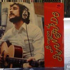 Discos de vinilo: *** JUAN PARDO - LO MEJOR DE JUAN PARDO - LP 1982 - LEER DESCRIPCIÓN. Lote 156607882