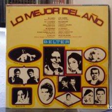 Discos de vinilo: *** LO MEJOR DEL AÑO BELTER - VERSIONES Y ARTISTAS ORIGINALES - LP AÑO 1970 - LEER DESCRIPCIÓN. Lote 156610670
