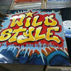 Discos de vinilo: WILD STYLE LP B.S.O. ESPAÑA 1984. Lote 156612952