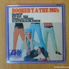 Discos de vinilo: BOOKER T. & THE MG´S - GROOVIN´ + 3 - EP. Lote 156613110