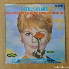 Discos de vinilo: PETULA CLARK - ROSA SILVESTRE + 3 - EP. Lote 156613148
