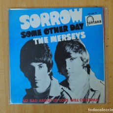 Discos de vinilo: THE MERSEYS - SORROW + 3 - EP. Lote 156613165